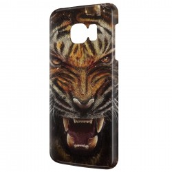Galaxy S7 Edge Angry Tiger