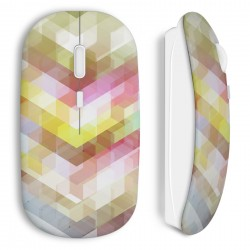 Souris sans fil 3D Transparence Design