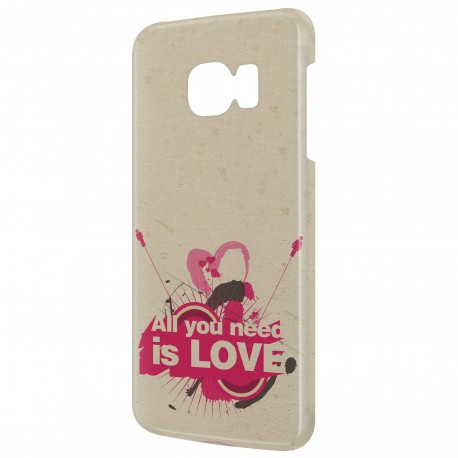 Coque Galaxy A7 (2016) All you need is LOVE Art