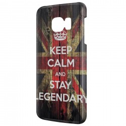 Coque Galaxy A7 (2016) Anglais Keep Calm and Stay Legendary
