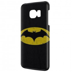 Coque Galaxy A7 (2016) Batman Logo Jaune