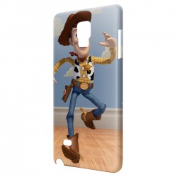 Coque Galaxy Note 4 Woody Toy Story Cowboy