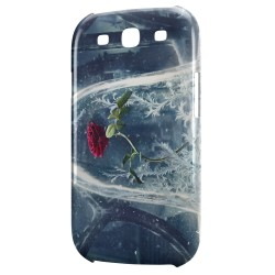 Coque Galaxy S3 The Beauty and The Beast Disney Rose