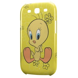 Coque Galaxy S3 Titi Flowers Yellow Style