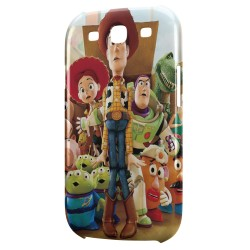 Coque Galaxy S3 Toy Story Groupe