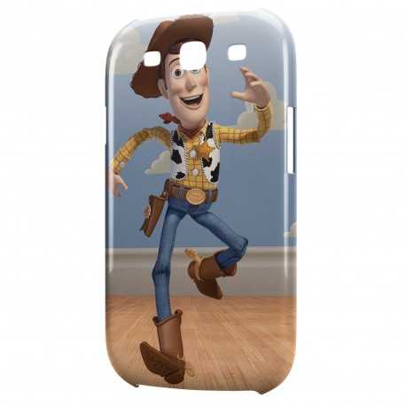 Coque Galaxy S3 Woody Toy Story Cowboy