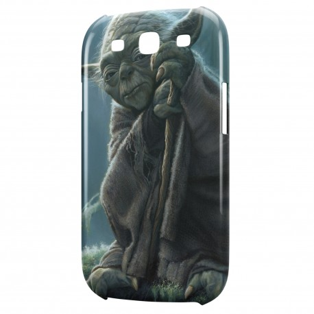 Coque Galaxy S3 Yoda Star Wars 4 Sage