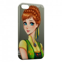 Coque iPhone 5 & 5S Anna Reine des Neiges