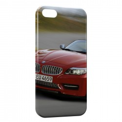 Coque iPhone 5 & 5S BMW Rouge 4