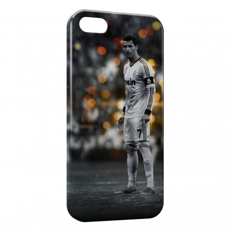 Coque iPhone 5 & 5S Cristiano Ronaldo Football 23