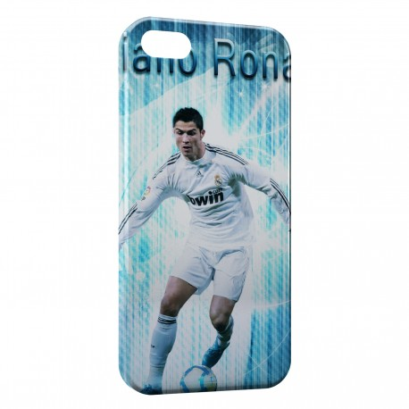 Coque iPhone 5 & 5S Cristiano Ronaldo Football 44