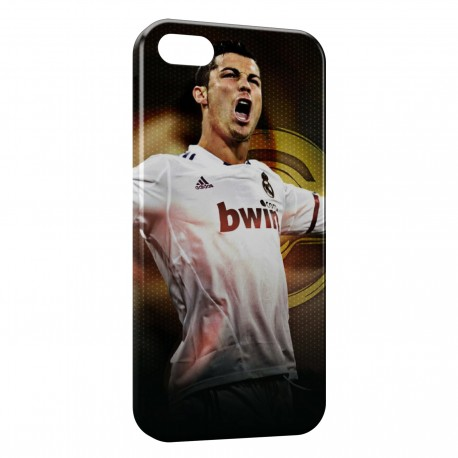 Coque iPhone 5 & 5S Cristiano Ronaldo Real Madrid CF Football