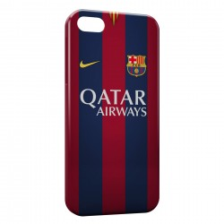 Coque iPhone 5 & 5S FC Barcelone FCB Qatar Airways Football 14