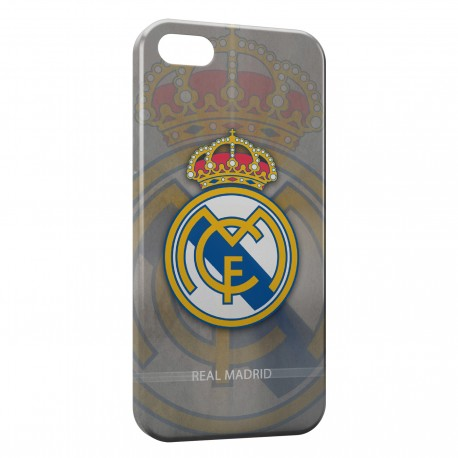 Coque iPhone 5 & 5S Real Madrid Football 10