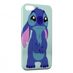 Coque iPhone 5 & 5S Stitch Triste 2