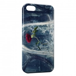 Coque iPhone 5 & 5S The Beauty and The Beast Disney Rose