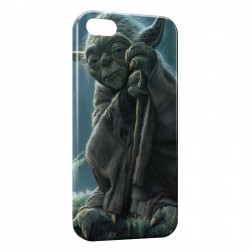 Coque iPhone 5 & 5S Yoda Star Wars 4 Sage