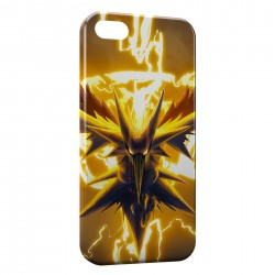 Coque iPhone 5 & 5S Zapdos Pokemon Oiseau 2