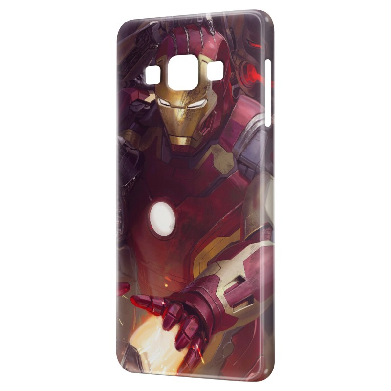 coque galaxy a3 2015 advengers iron man red coque spirit. Black Bedroom Furniture Sets. Home Design Ideas
