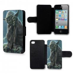 Etui Housse iPhone 6 Plus (+) Yoda Star Wars 4 Sage
