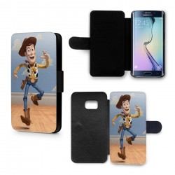 Etui Housse Galaxy S6 Woody Toy Story Cowboy