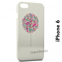 iPhone 6 Tree multicolor paint
