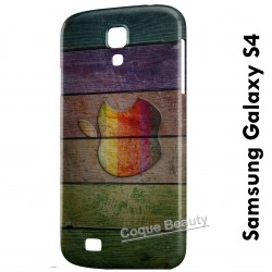 Galaxy S4 Apple Wood