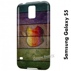 Galaxy S5 Apple Wood