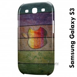 Galaxy S3 Apple Wood
