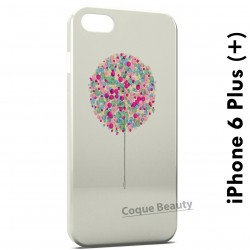 iPhone 6 Plus (5.5 inch) Tree multicolor paint