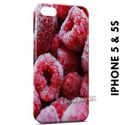 iPhone 5/5S Frozen Raspberries