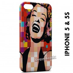 iPhone 5/5S Marilyn Monroe PopArt Andy Warhol