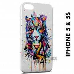 iPhone 5/5S Tiger painted