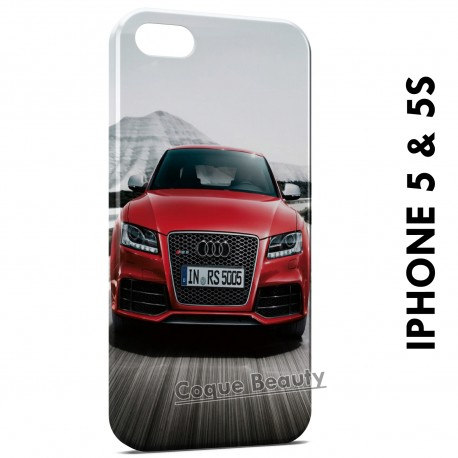 iPhone 5/5S Audi Rouge Luxury
