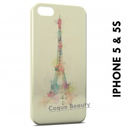 iPhone 5/5S Eiffel Tower Painted