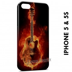 iPhone 5/5S Guitar Water & Fire