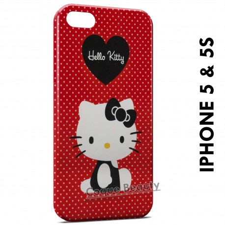 iPhone 5/5S Hello Kitty Rouge