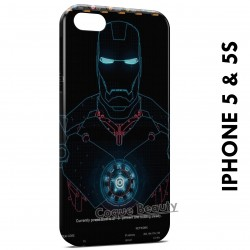 iPhone 5/5S Iron Man Robot