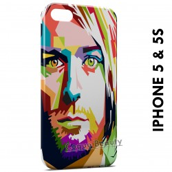 iPhone 5/5S Kurt Cobain Pop Art