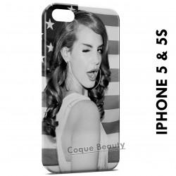 iPhone 5/5S Lana Del Rey vintage USA