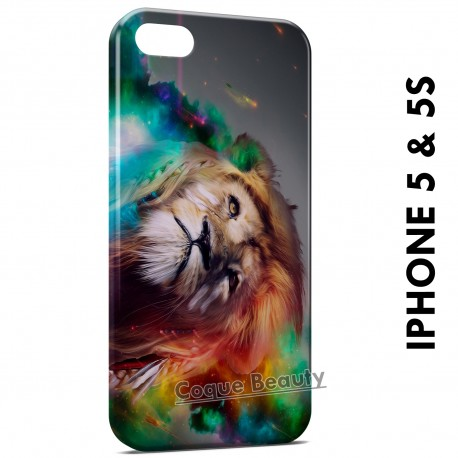 iPhone 5/5S Lion Abstract