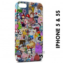 iPhone 5/5S Characters Manga Cartoon Web