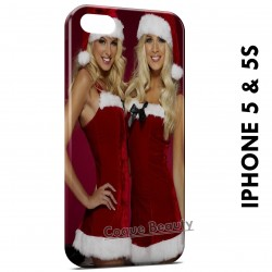iPhone 5/5S Sexy Christmas Girl