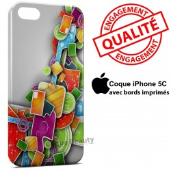 iPhone 5C 3D Design colors