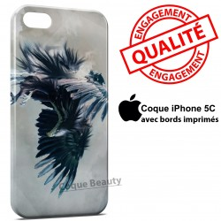 iPhone 5C Aigle bleu