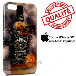 iPhone 5C Alcool Jack Daniels Art