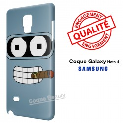 Galaxy Note 4 Bender Futurama