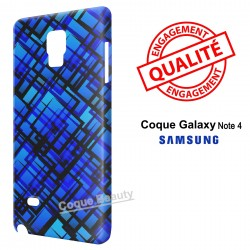Galaxy Note 4 Blue Dark Style
