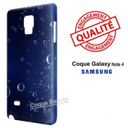 Galaxy Note 4 Bubbles under water