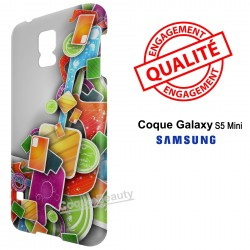 Galaxy S5 Mini 3D Design colors